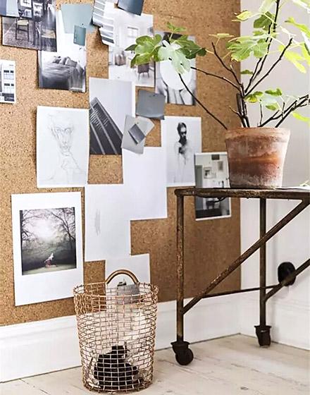 书房软木背景墙图片大全
