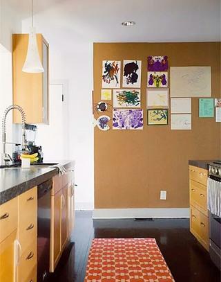 厨房软木背景墙装修效果图大全