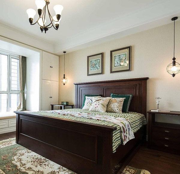 经典乡村美式卧室装饰装修图