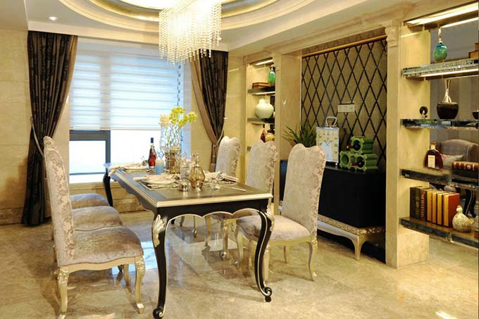 新古典餐厅装饰图片