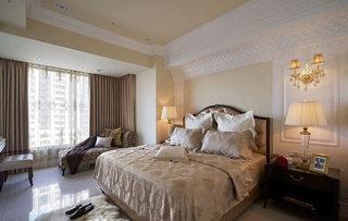 150平欧式古典风格卧室设计效果图