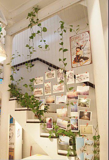 楼梯背景墙设计图片
