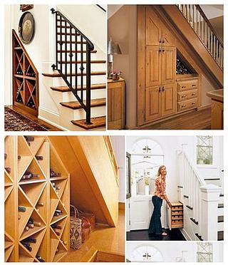 楼梯收纳装饰图片大全