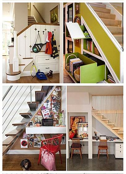 楼梯玩具收纳设计图片