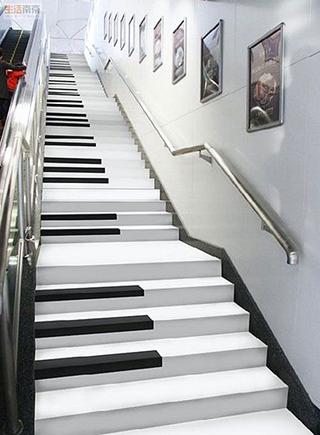 楼梯设计平面图片大全