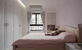 甜美粉紫色 田园风主卧室设计