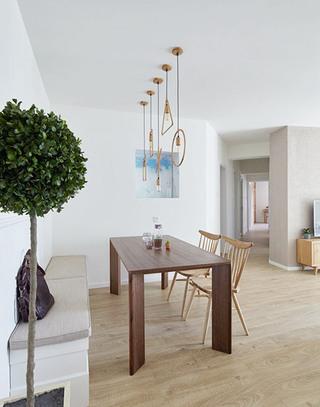 北欧风格三居室餐厅吊灯图片