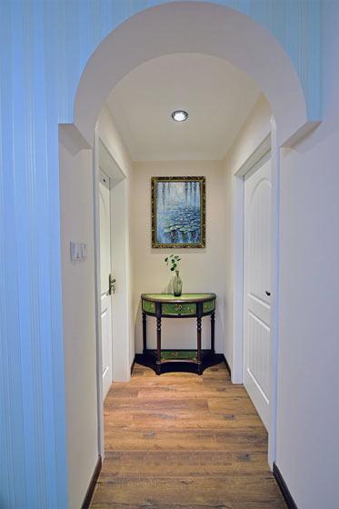 119平美式风格浪漫走廊设计图