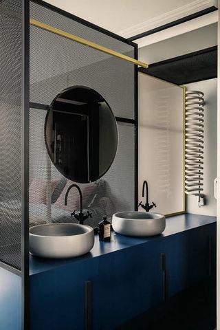 180平米巴黎公寓洗手台图片大全