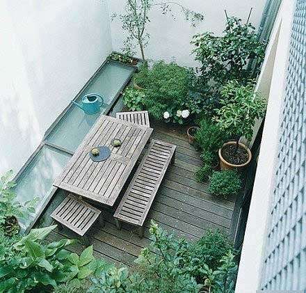 庭院设计俯视图