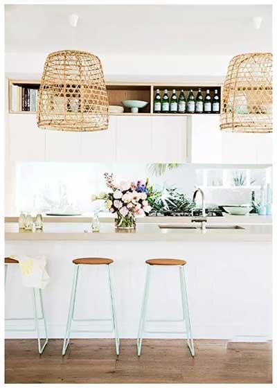 白色系厨房装修实景图