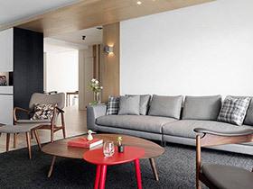 现代简约三居室装修 无印简约风可以这样造
