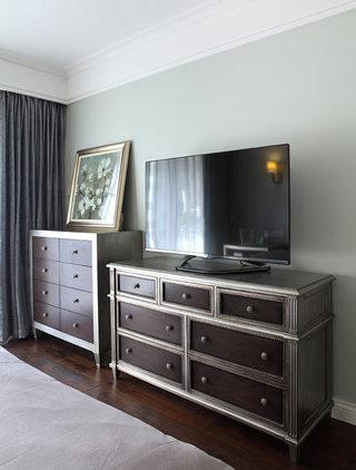 220平时尚美式卧室电视背景墙设计大全