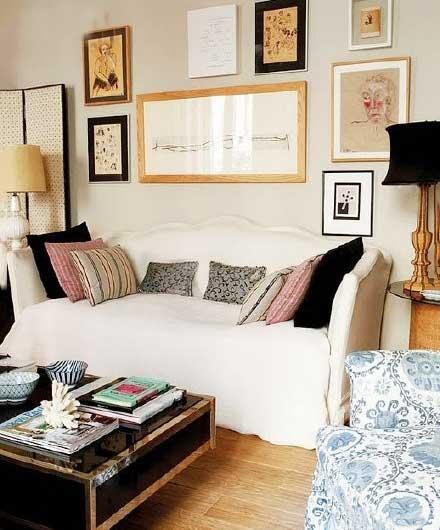 法式客厅布置设计图