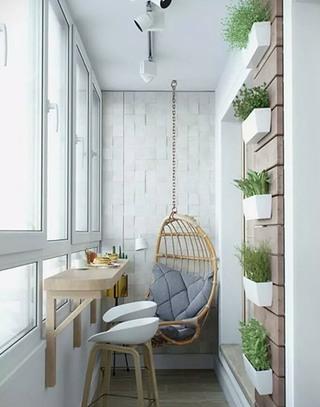 唯美时尚美式卧室带封闭式阳台隔断设计_齐家网装修