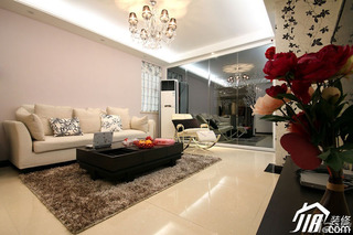 简约风格公寓时尚富裕型婚房家装图