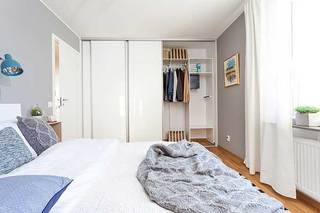 小户型卧室布置构造图