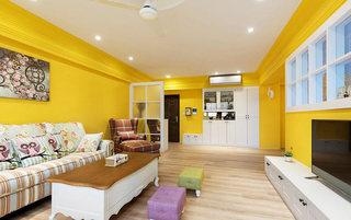 沉浸在色彩中  非常靓丽的简欧风格公寓1/7