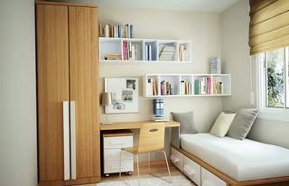 小户型客卧兼书房装修