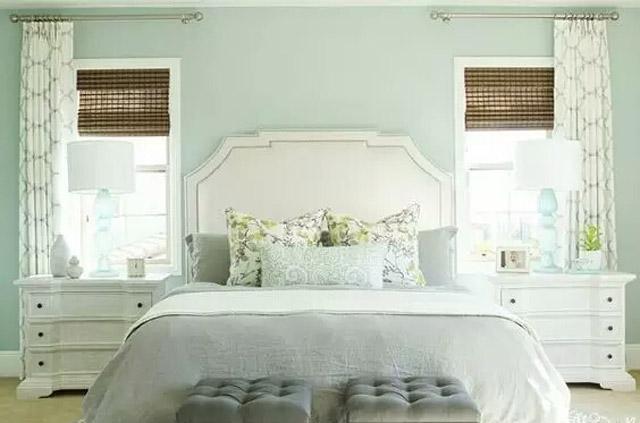 小清新绿色卧室装修设计