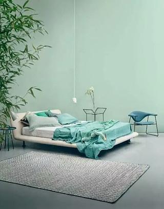 雅致绿色卧室装修装潢图