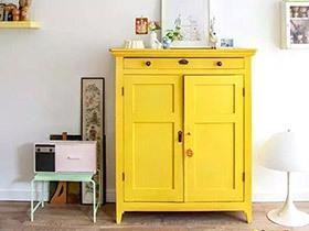 10个亮黄色家具效果图 唤醒春日明快生活