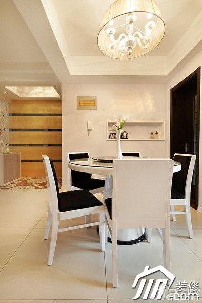 简约风格公寓经济型130平米设计图