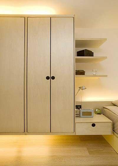 小户型衣柜设计收纳图