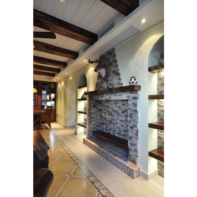 90平米美式公寓装修效果图,御上海装修案例效果图图片