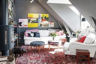 不规则客厅小客厅装修