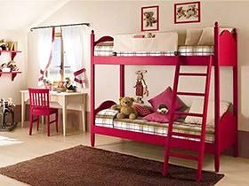 10个儿童房高低床图片 空间节省全靠它