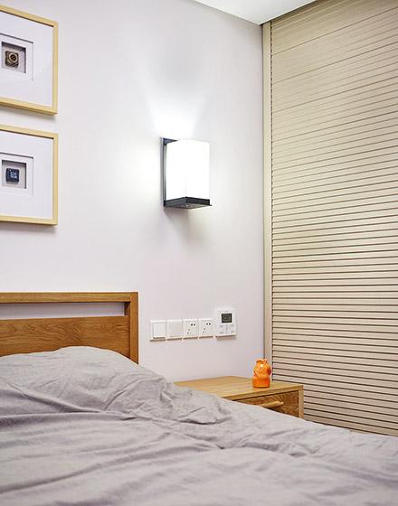 新中式风格卧室壁灯图片