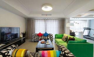 280平现代简约客厅装饰设计