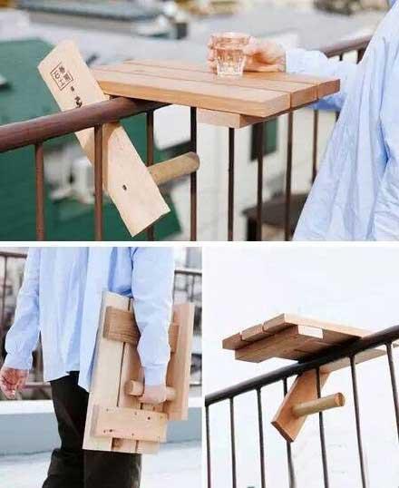 阳台餐桌设计装修效果图