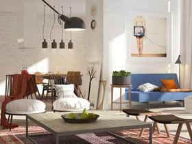 复古小户型装修  让你的家更有个性