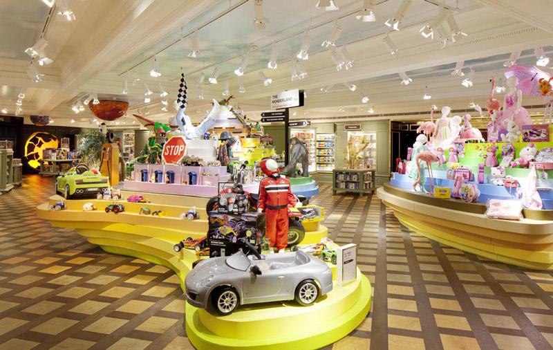 创意儿童玩具店装修