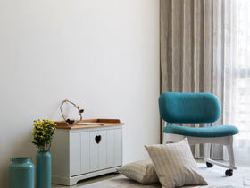 100平米三居室暖家装修 离幸福最近的地方