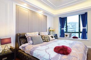 132平米混搭三居室卧室装潢图