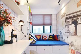 132平米混搭三居室儿童房效果图