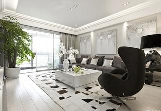 时尚现代风客厅 背景墙装饰设计