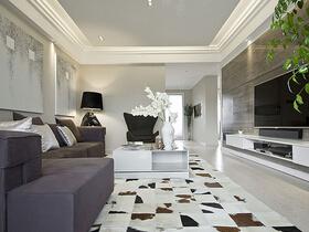 120平现代简约风格两室两厅装修 清新舒适家