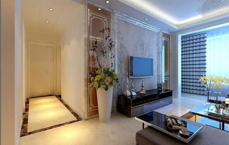 贵阳川豪装饰-花果园70m小屋架室内装修设计效果图-现代案3则如图是户型设计图图片