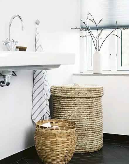 温情卫生间洗手区装修效果图