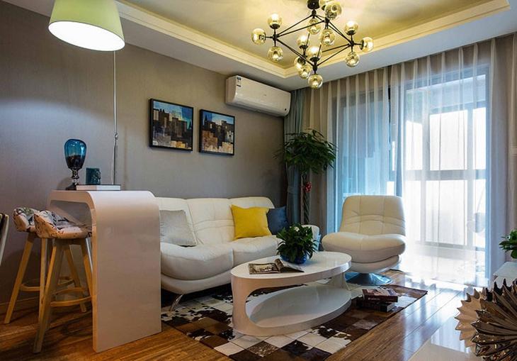 都市现代风 小客厅装饰效果图