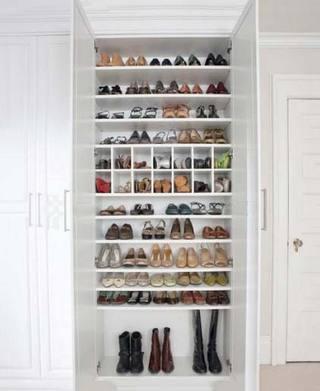玄关鞋柜收纳设计图