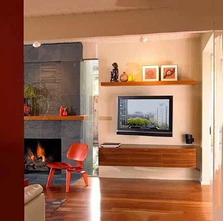电视背景墙收纳设计图