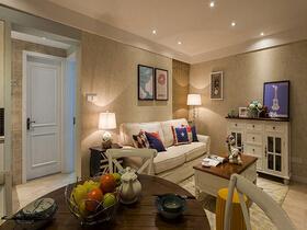 简约美式小户型  让你的家呈现温馨美感