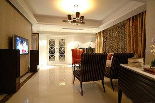 120平欧式风格欧式客厅