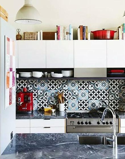 厨房花瓷砖装潢装修