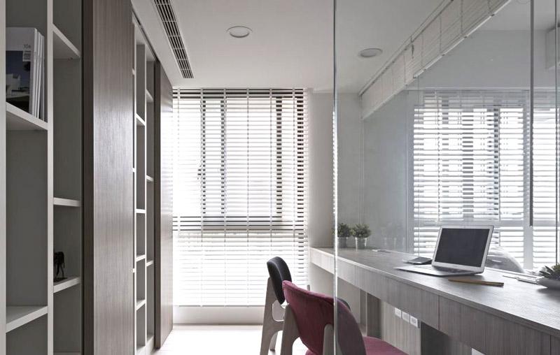 180平北欧风格客厅书房隔断设计图